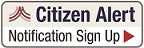 Alert button with text - Citizen Alert Notification Sign-Up